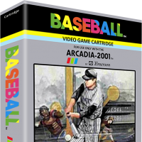 Baseball, a video game for the Arcadia 2001 video game console