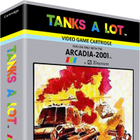 Tanks A Lot, a video game for the Arcadia 2001 video game console