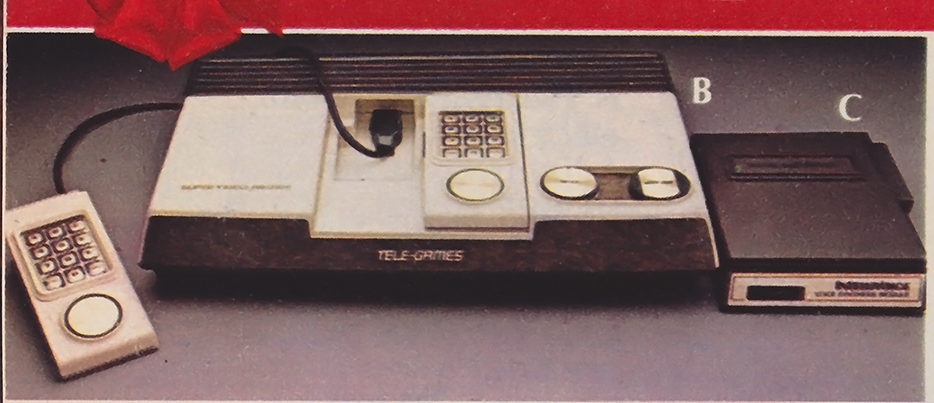 The Super Video Arcade, a home video game console by Sears 1979