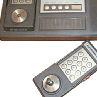 Image of the Arcadia 2001, a home video game system by Emerson 1982