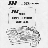 Cover of the Arcadia 2001 manual, a home video game system by Emerson 1982
