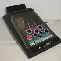 Image of Cosmos, a holographic handheld gaming system by Atari (unreleased)