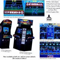 Cyberball 2072, a video arcade game by Atari Games