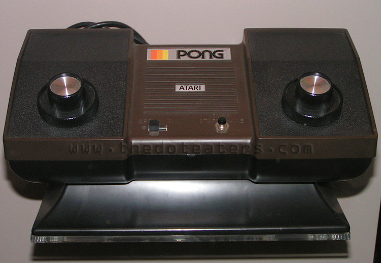 Home PONG, a home video game console by Atari, 1975
