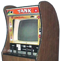 Tank, an arcade video game by Kee, 1974