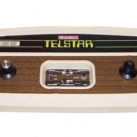 Image of Coleco's Telstar, a home video game console 1976