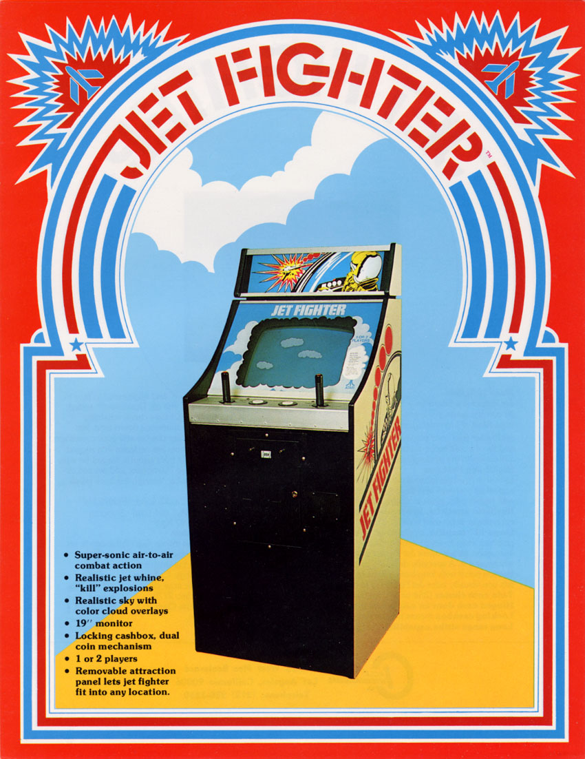 Jet Fighter, an arcade video game by Atari 1975