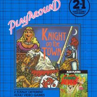 Knight on the Town and Jungle Fever, two adult video games by Playaround for the Atari 2600