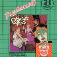 Cathouse Blues and Philly Flasher, two adult video games by Playaround for the Atari 2600