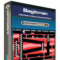 Bagitman, a video game for the Commodore 64 home computer