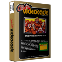 Brickyard/Clowns, home video games for the Bally Professional Arcade console