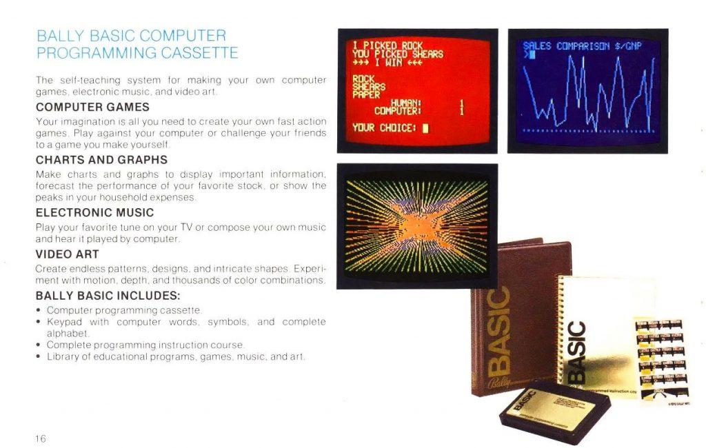 Bally BASIC cassette, for the Bally Professional Arcade 1978