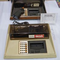 Home video game systems Bally Professional Arcade (1978) and Bally Computer System (1982)