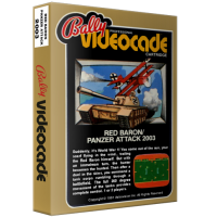 Red Baron/Panzer Attack, home video games for the Bally Professional Arcade