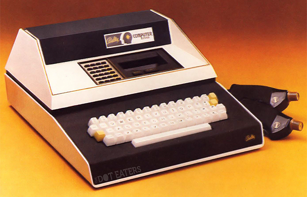 Image of the Bally Computer System, with Video Console and Programming Keyboard, 1979