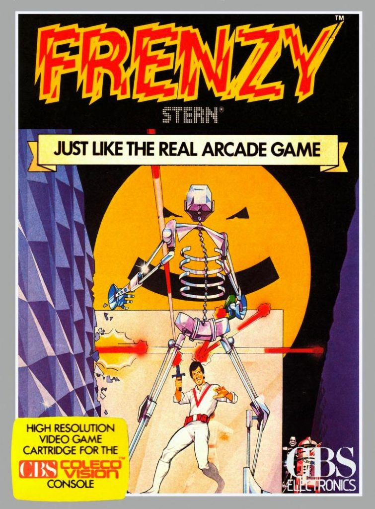 Frenzy, a video game for the ColecoVision