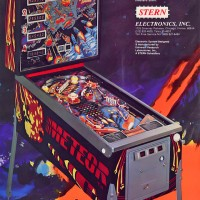 Image of Meteor, a pinball game by Stern 1979