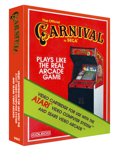 Carnival, a home video game for the Atari 2600 video game console