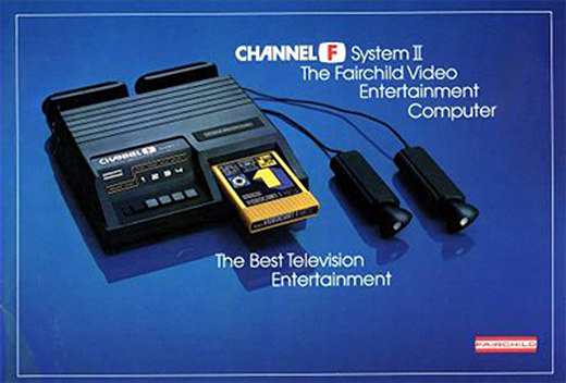 Ad for the Channel F System II, a home video game system by Zircon International 1980