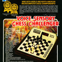 1980 ad for an electronic chess game by Fidelity Electronics