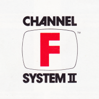 Logo for the Channel F System II, a home video game console by Zircon International, 1980