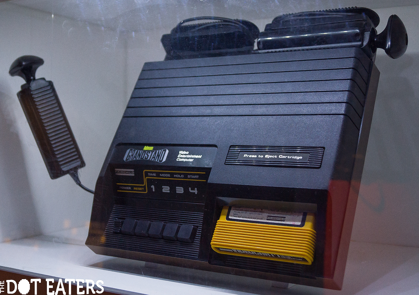 Adman Grandstand, UK version of the Channel F, a home video game console by Fairchild 1976