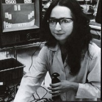 Image of QA testing of the Channel F, a home video game system by Fairchild 1976