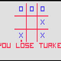 Snap of Tic-Tac-Toe, a video game by Fairchild 1976