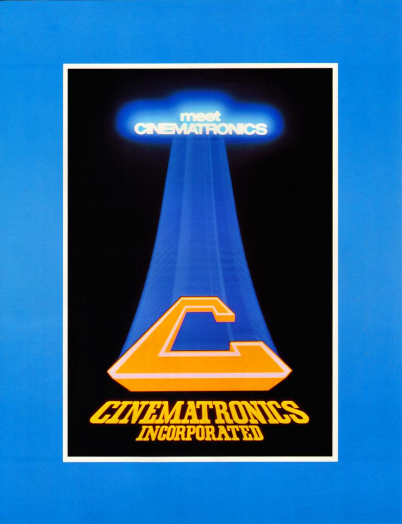 Logo for Cinematronics, 1981 company flyer