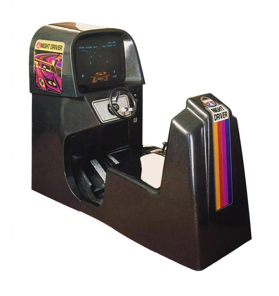 Night Driver, an arcade video game by Atari