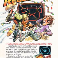 Print ad for Reactor, VCS/2600 video game from Atari