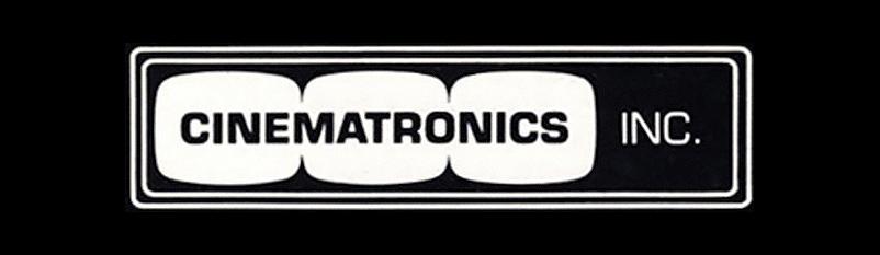 Image of Cinematronics logo, arcade video game maker