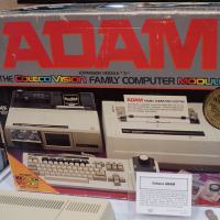 Box for ADAM, a home computer system by Coleco 1983.