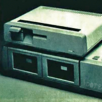 A floppy drive for the ADAM home computer, by Coleco