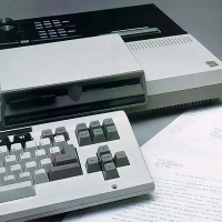 Prototype for Expansion Module #3 for ColecoVision, a home video game console by Coleco 1983