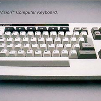 Keyboard for the ADAM, a home computer by Coleco 1983