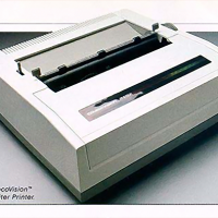 The SmartWriter Printer for ADAM, a home computer by Coleco 1983