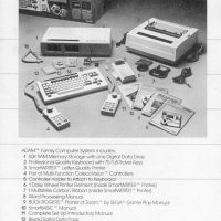 Manual page for ADAM, a home computer by Coleco