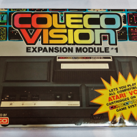 Expansion Module #1, a peripheral for the ColecoVision, a home video game system by Coleco 1982