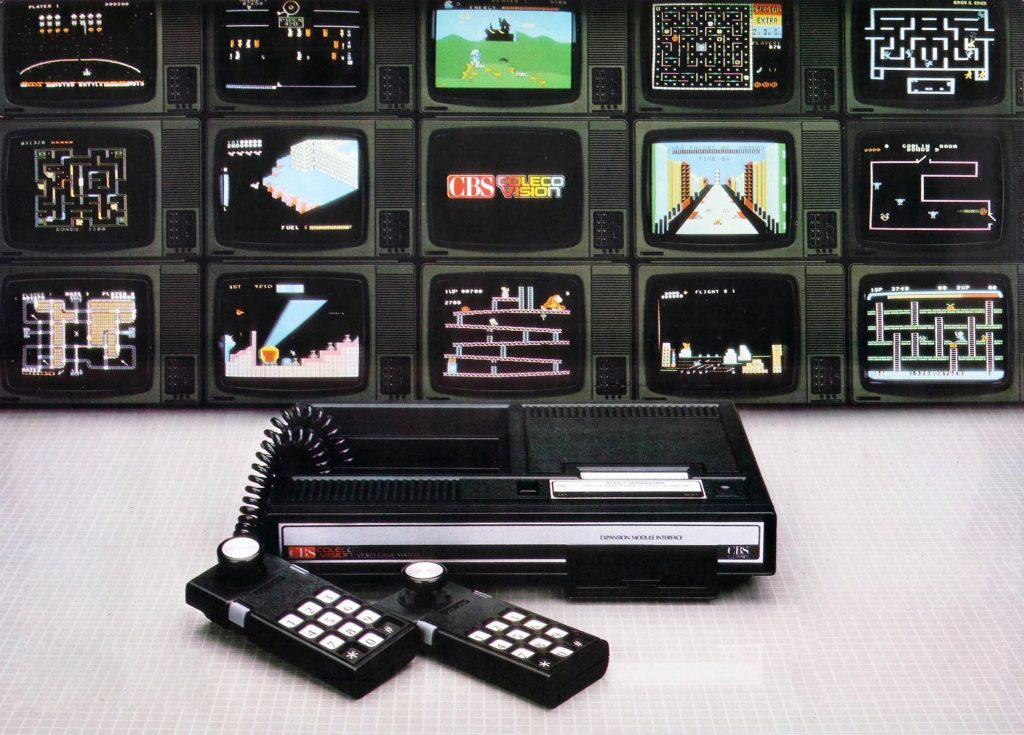 ColecoVision, a home video game system by Coleco