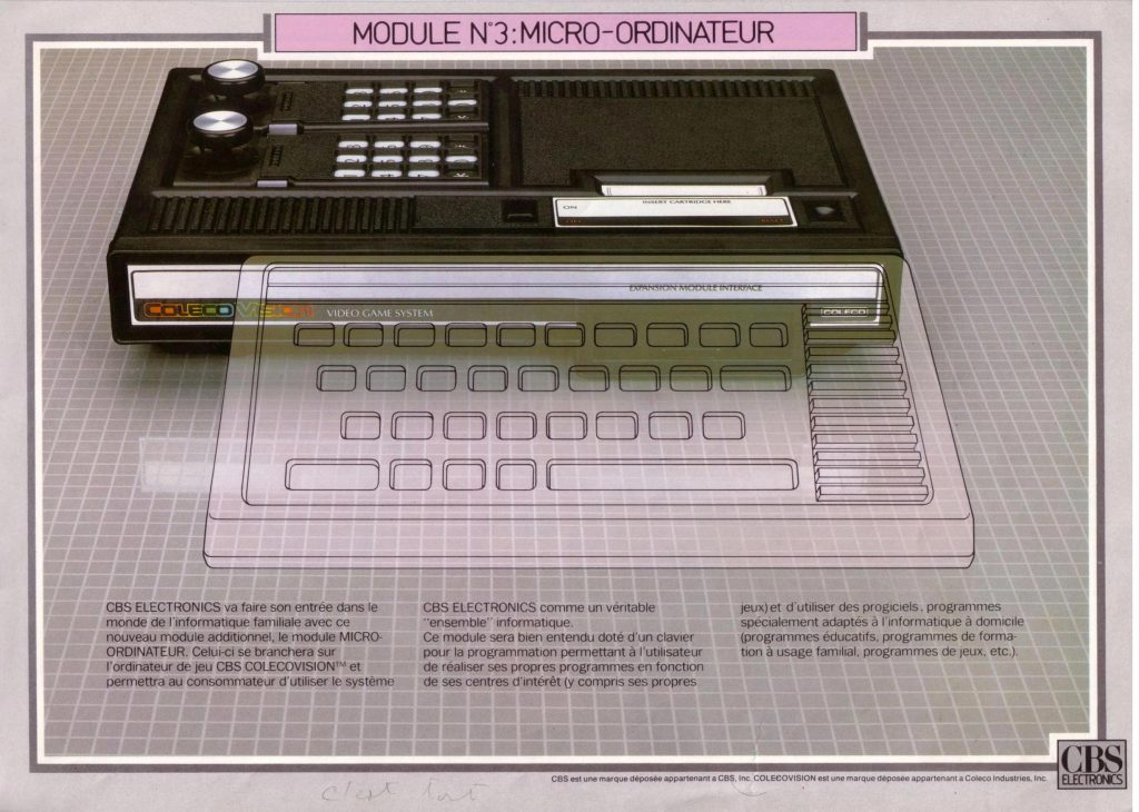 ColecoVision, a home video game console by Coleco