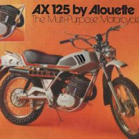 A motorbike by Alouette, a division of Coleco, later a home video game company