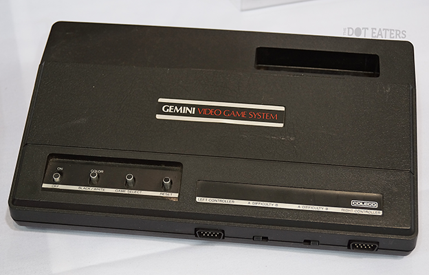 Gemini, a clone of the home video game system Atari VCS/2600, released by Coleco in 1982