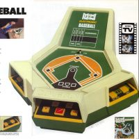 Head to Head Baseball, an electronic sports game by Coleco