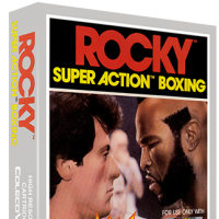 Rocky Super Action Boxing, a home video game for the ColecoVision video game console