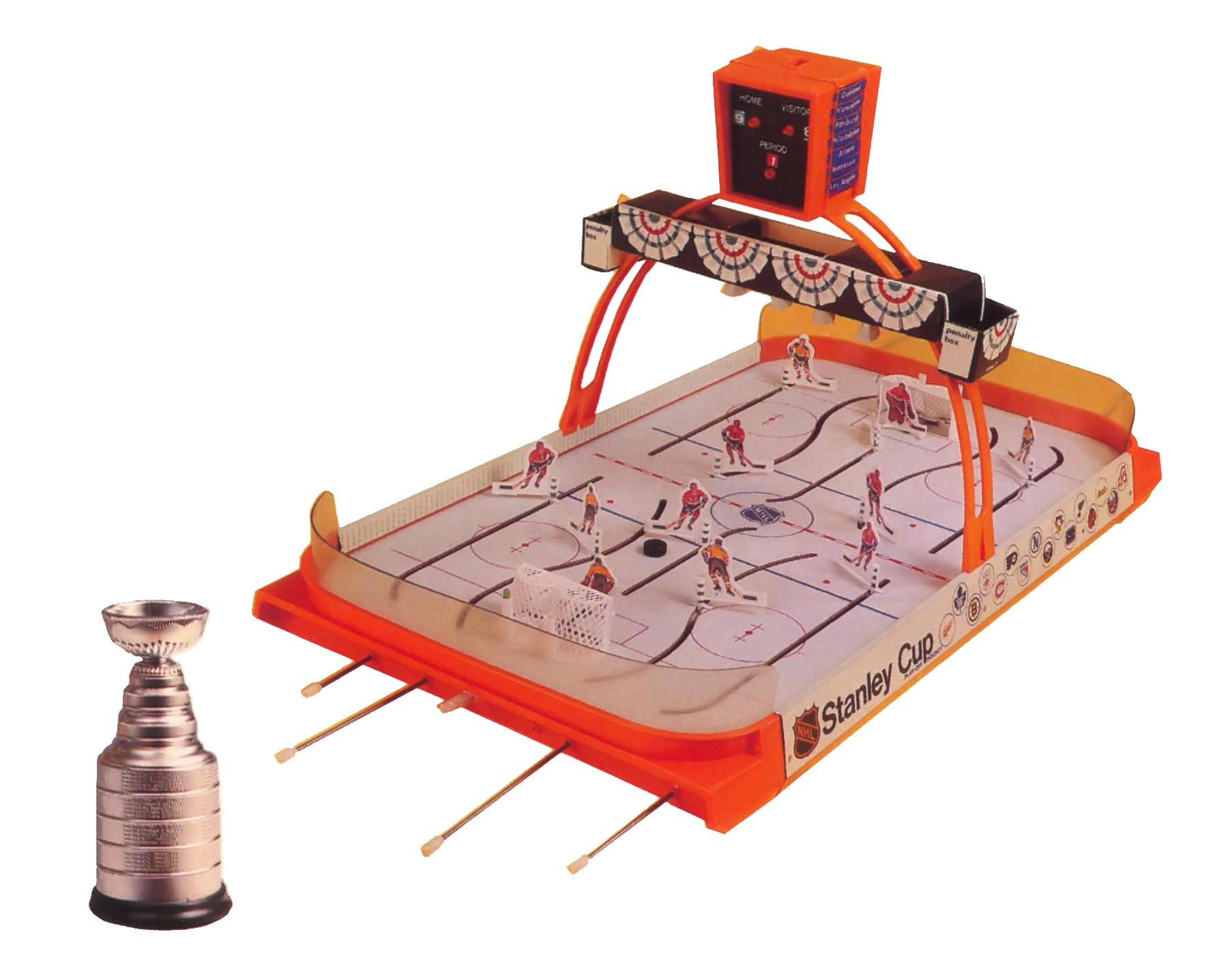 Rod hockey game by Coleco