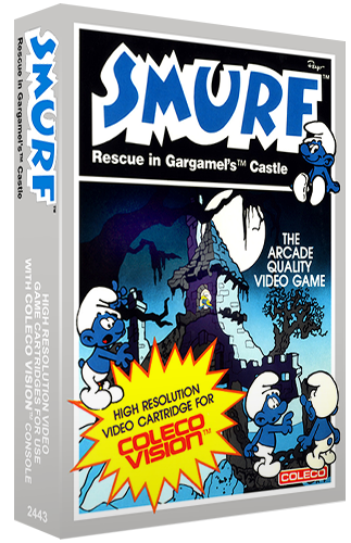 Smurf: Rescue in Gargamel's Castle, a video game for the ColecoVision home video game console