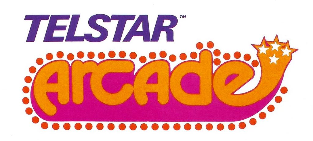 Logo for the Telstar Arcade, a video game system by Coleco