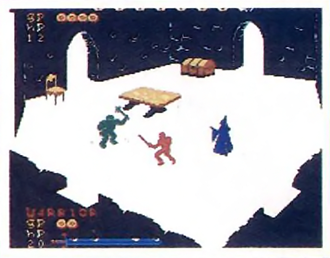 Image of Tunnels & Trolls, an unreleased video game for the ColecoVision
