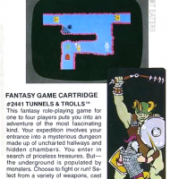 Catalog entry for Tunnels & Trolls, a fantasty video game for the ColecoVision